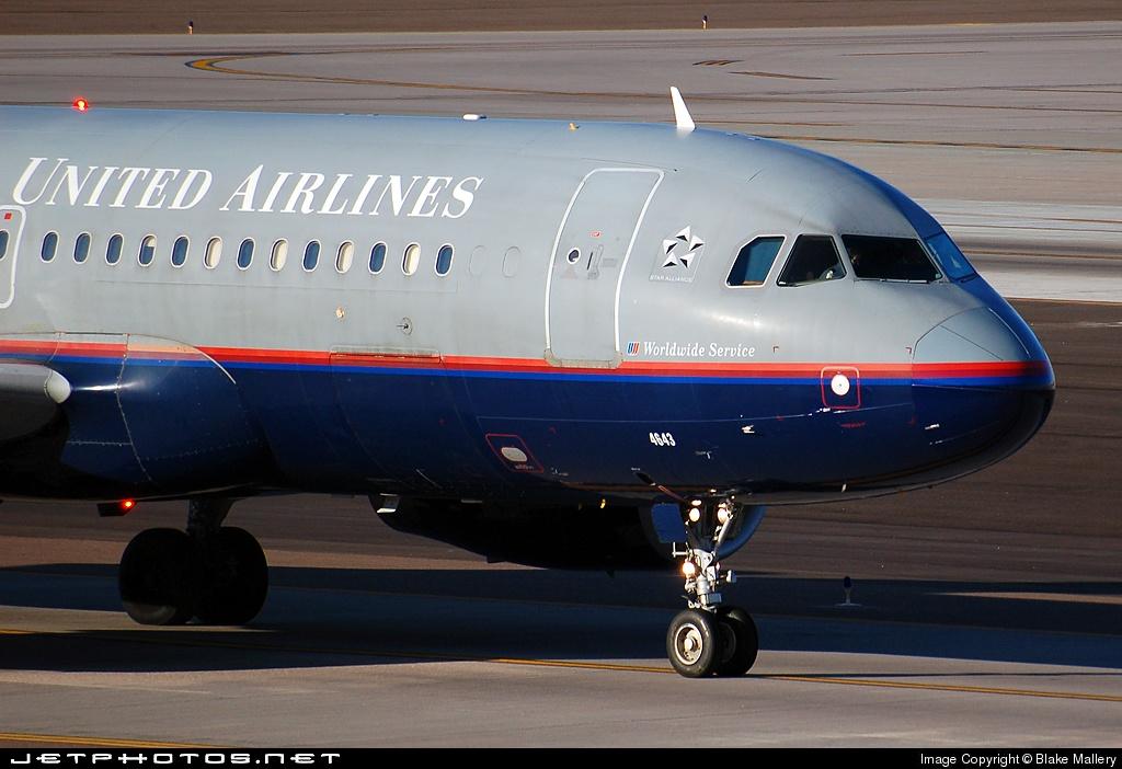 N443UA - Airbus A320-232 - United Airlines