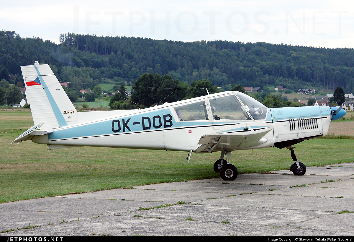 OK-DOB - Zlin 43 - Private