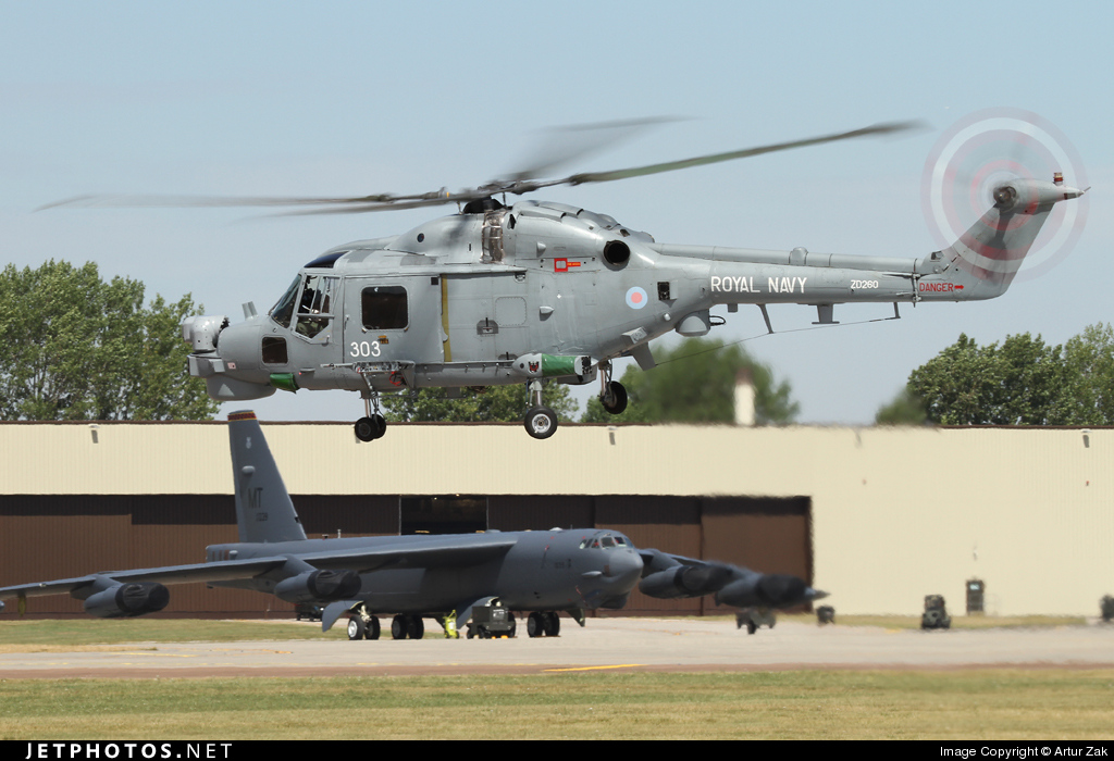ZD260 - Westland Lynx HMA.8DAS - United Kingdom - Royal Navy