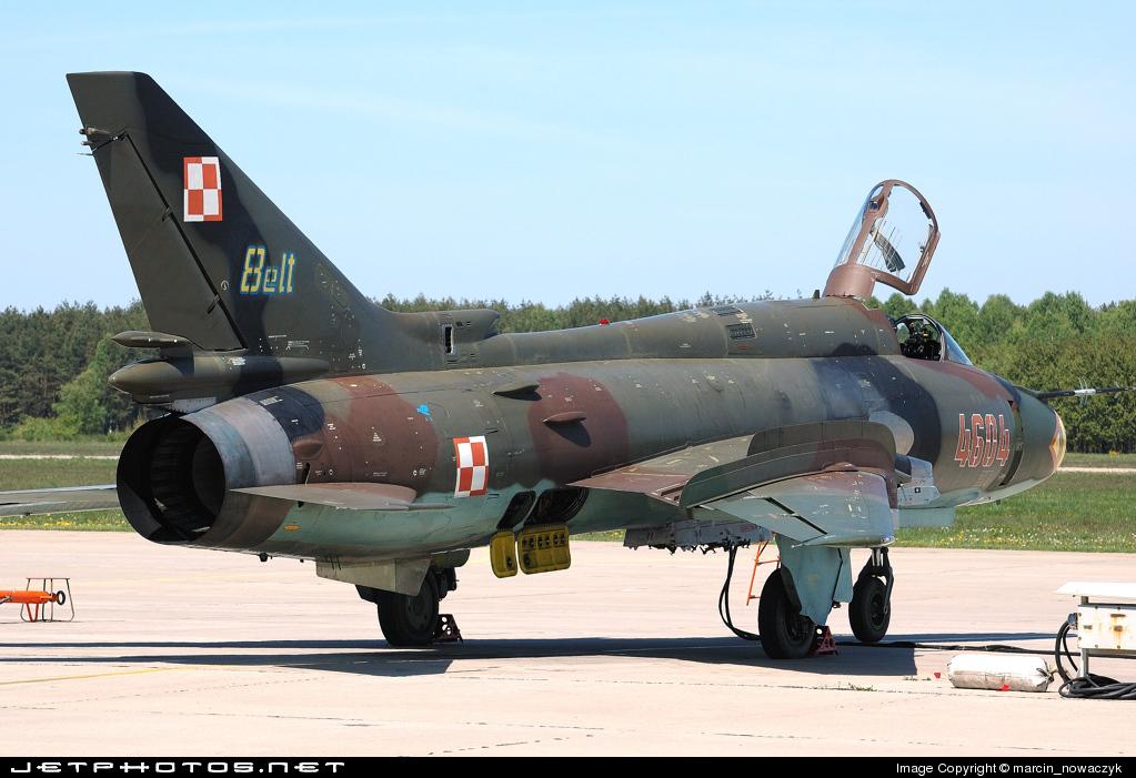 4604 - Sukhoi Su-22M4 Fitter K - Poland - Air Force