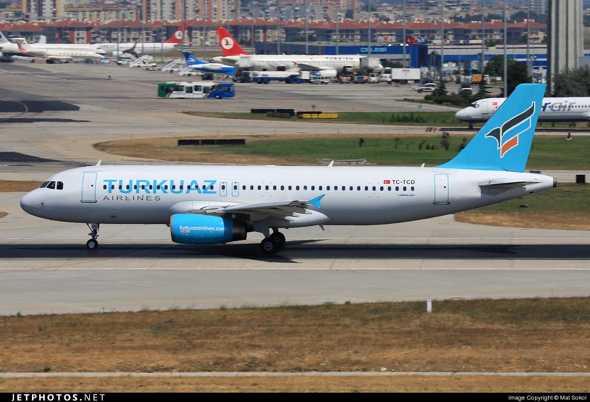 TC-TCD - Airbus A320-232 - Turkuaz Airlines