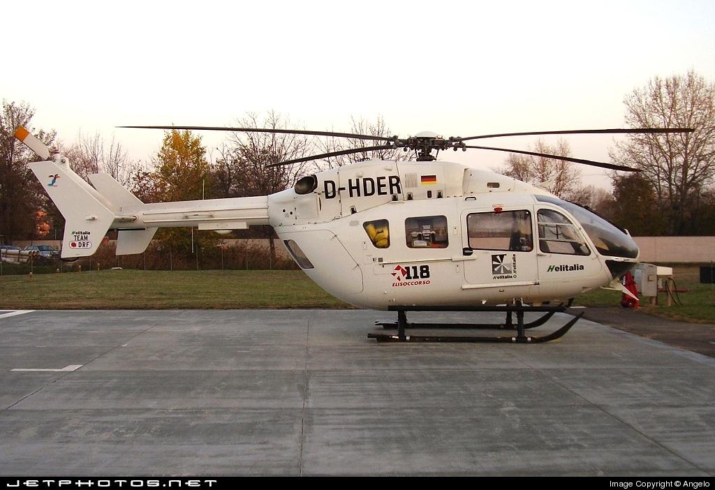 D-HDER - Eurocopter EC 145 - Helitalia Team