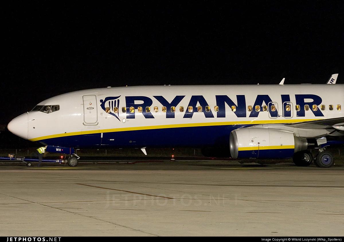 EI-DWH - Boeing 737-8AS - Ryanair
