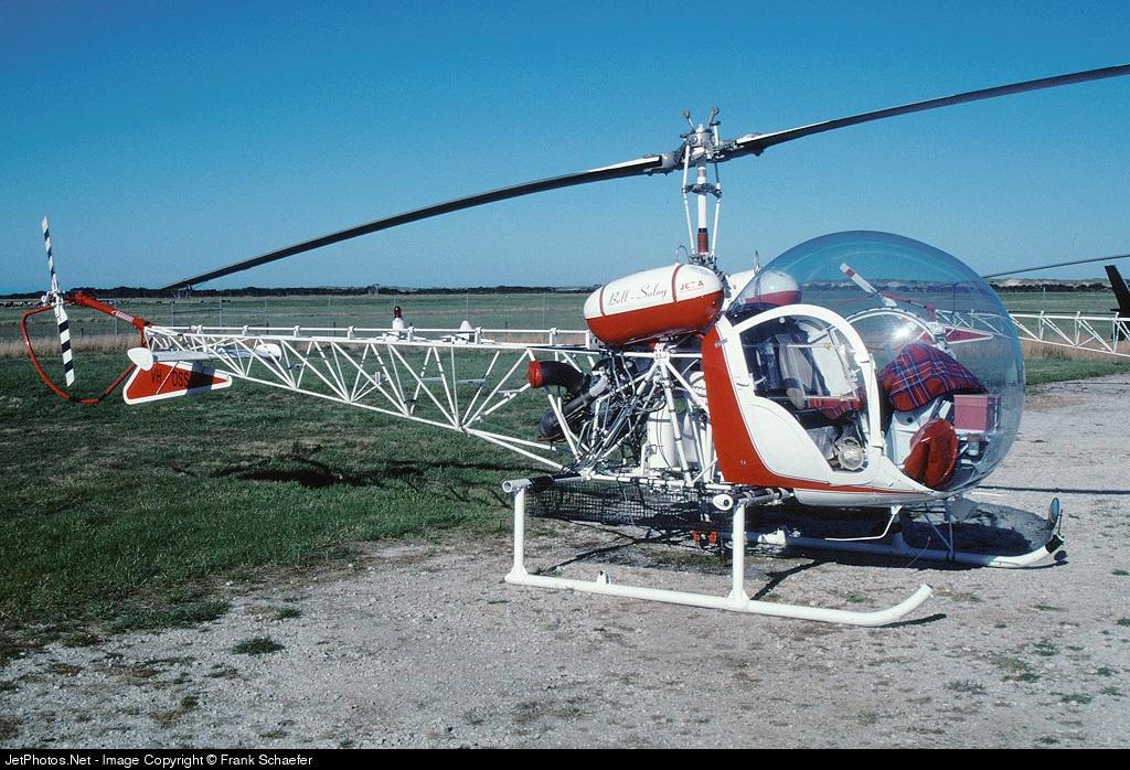 VH-OSS - Bell 47 - Osborne Aviation Services