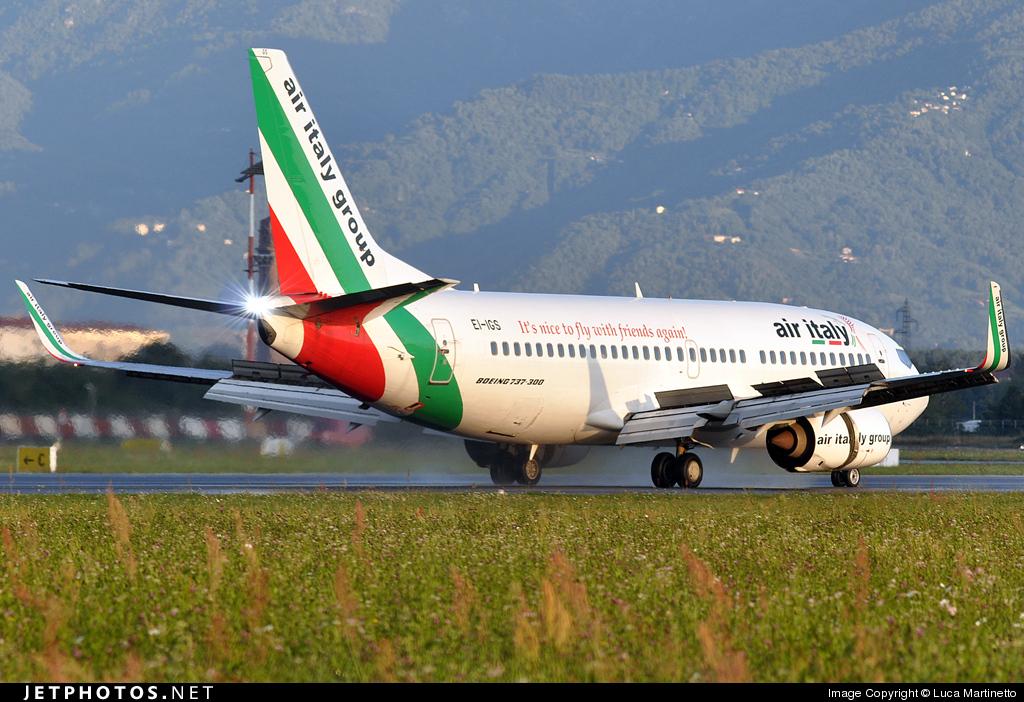 EI-IGS - Boeing 737-36N - Air Italy
