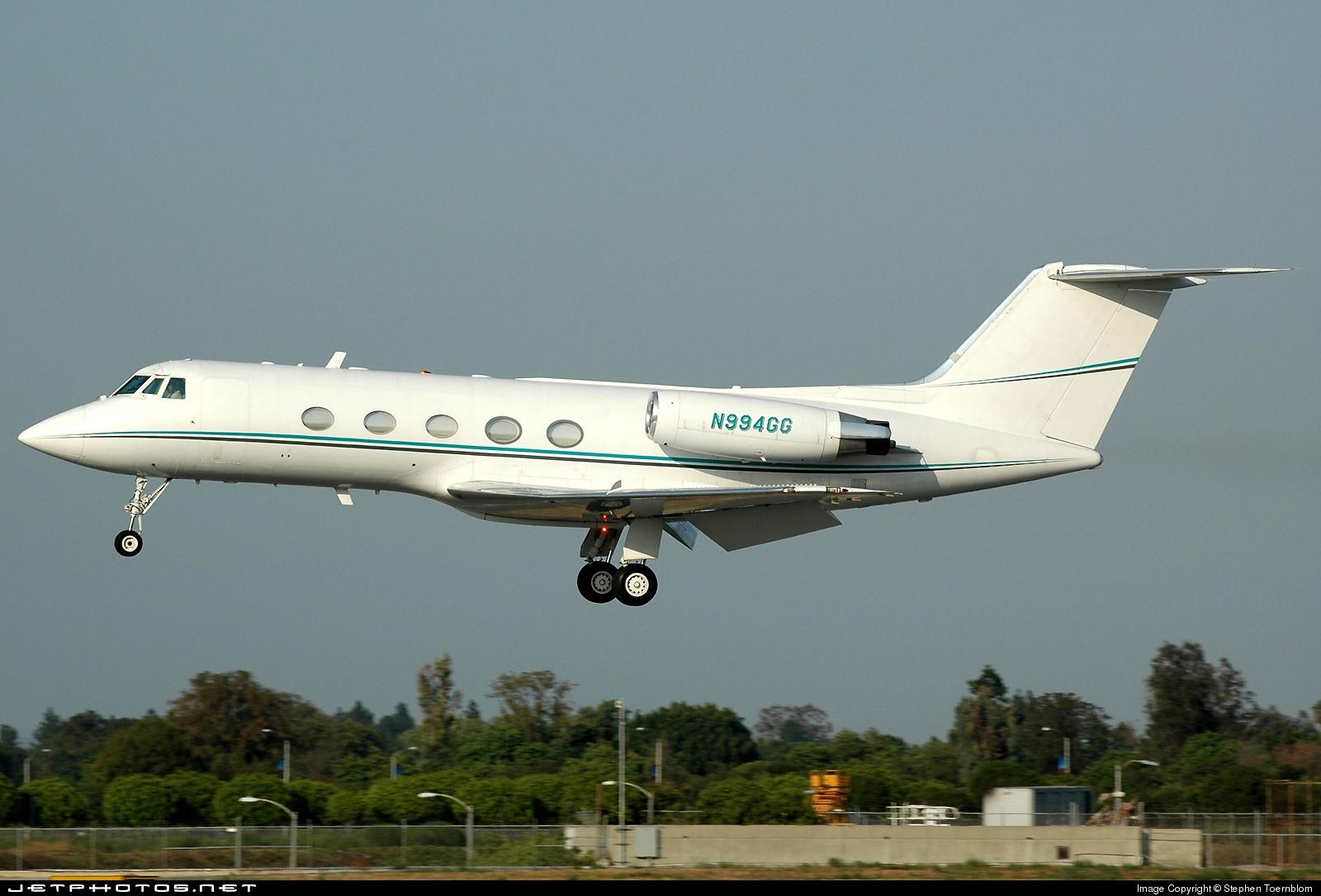 N994GG - Gulfstream G-II - Private