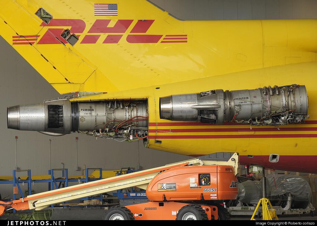 N740DH - Boeing 727-2Q9(Adv)(F) - DHL (ASTAR Air Cargo)