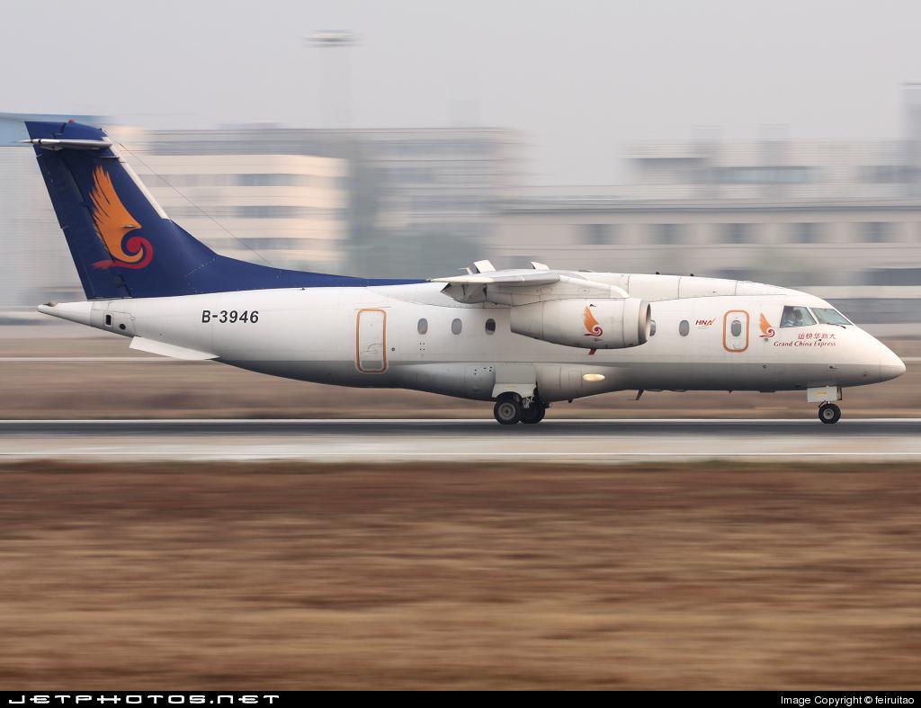 B-3946 - Dornier Do-328-300 Jet - Grand China Express