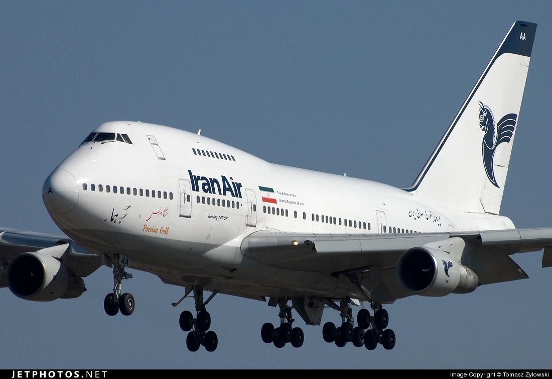 EP-IAA - Boeing 747SP-86 - Iran Air