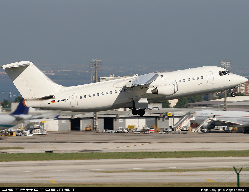 D-AWBA - British Aerospace BAe 146-300 - WDL Aviation