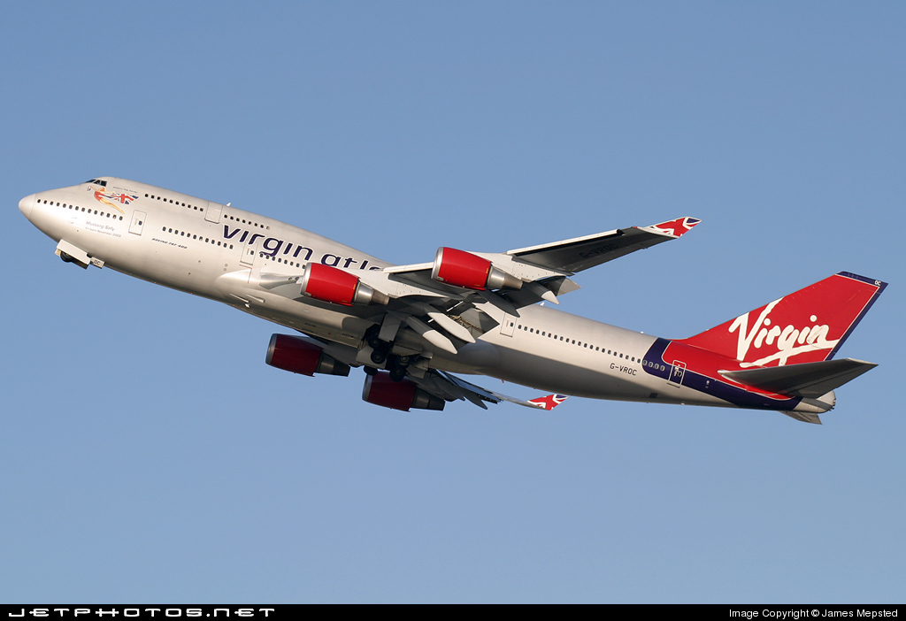 G-VROC - Boeing 747-41R - Virgin Atlantic Airways