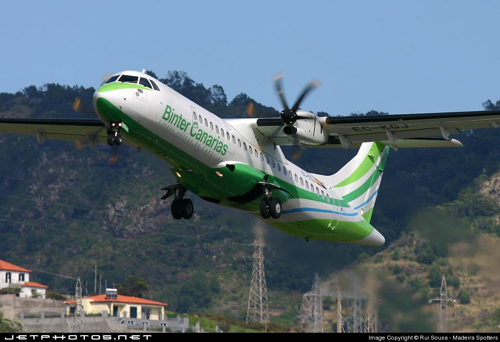 EC-KGJ - ATR 72-212A(500) - Binter Canarias (Naysa)