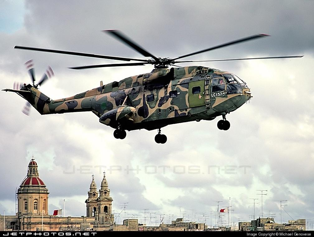 LC-157 - Aérospatiale SA 321 Super Frelon - Libya - Air Force