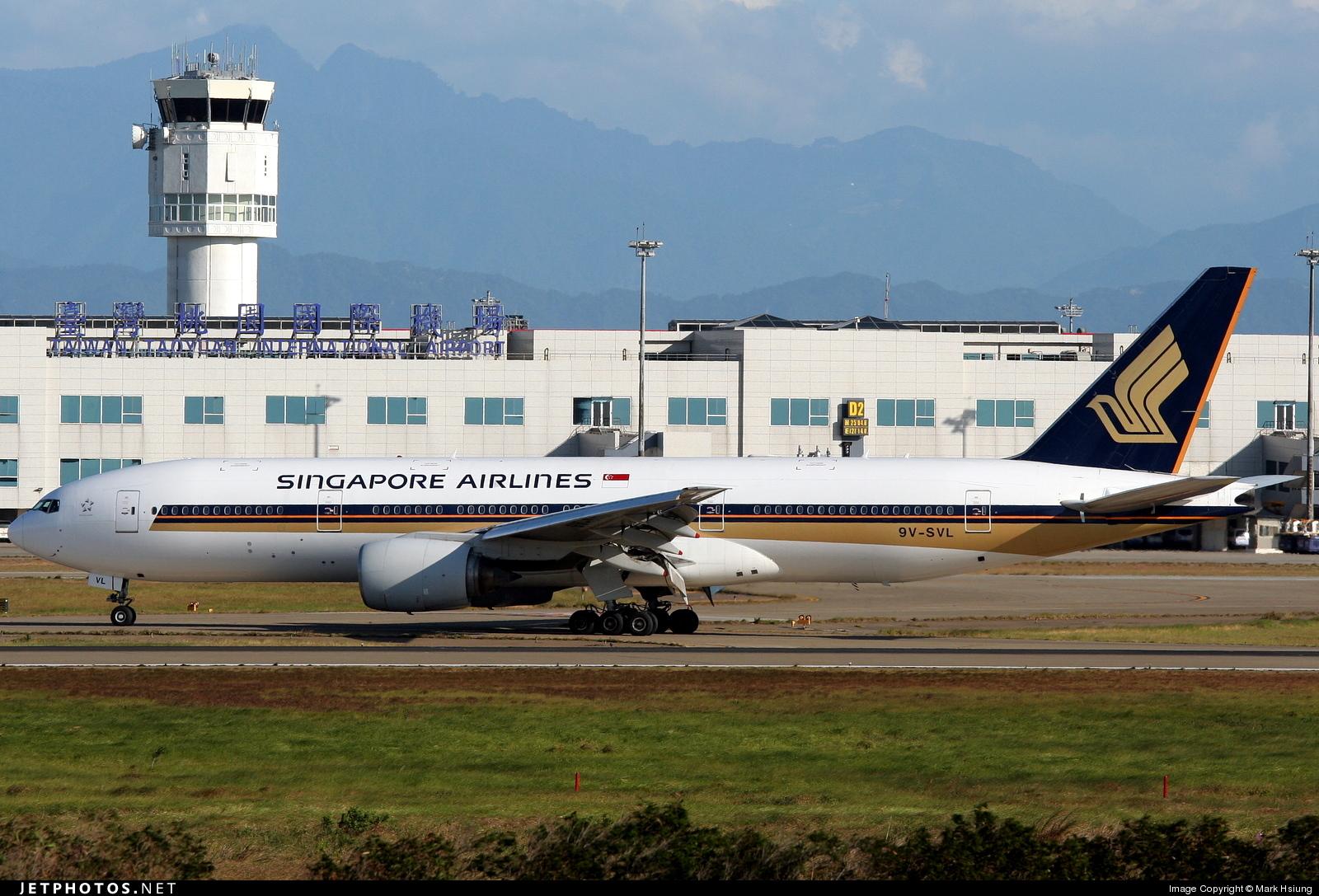 9V-SVL - Boeing 777-212(ER) - Singapore Airlines