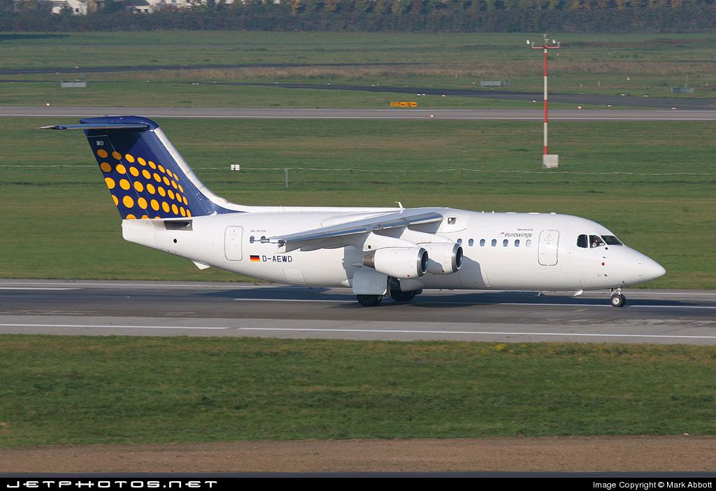 D-AEWD - British Aerospace BAe 146-200 - Lufthansa Regional (Eurowings)