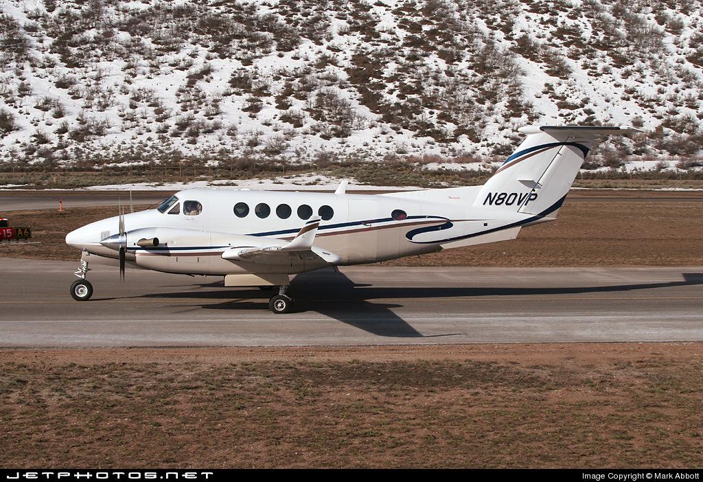 N80VP - Beechcraft B200 Super King Air - Private