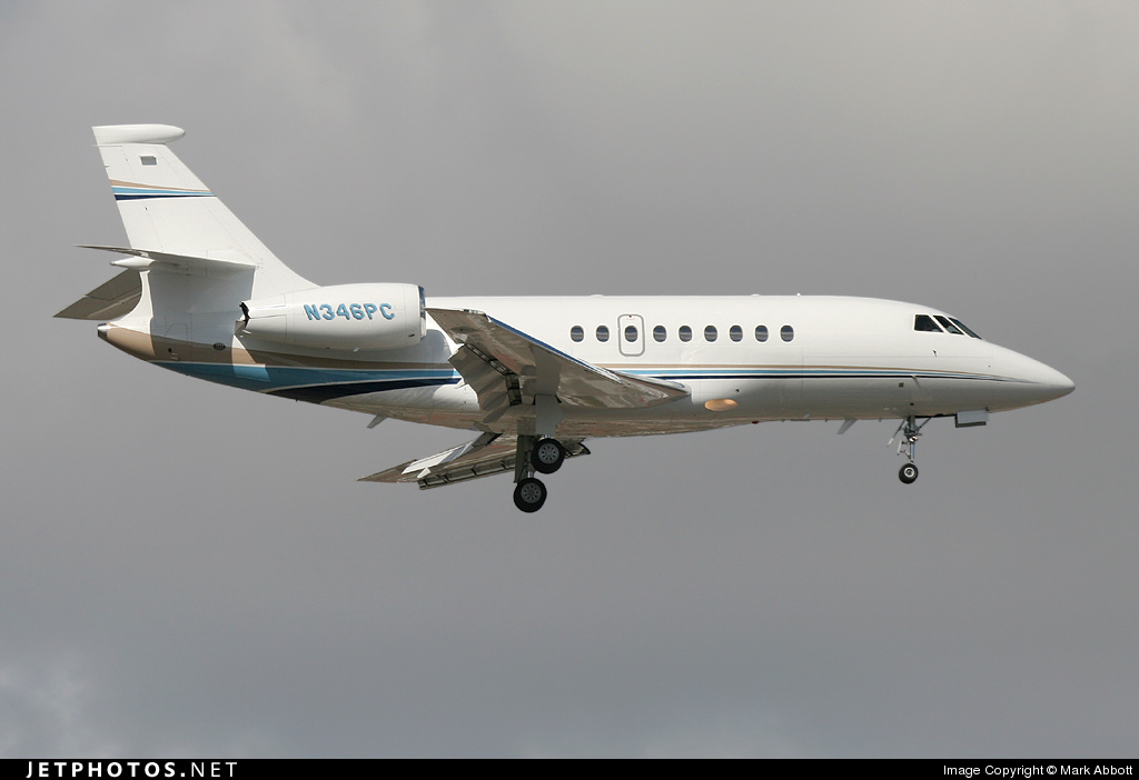 N346PC - Dassault Falcon 2000EX - Global Pacific Aviation