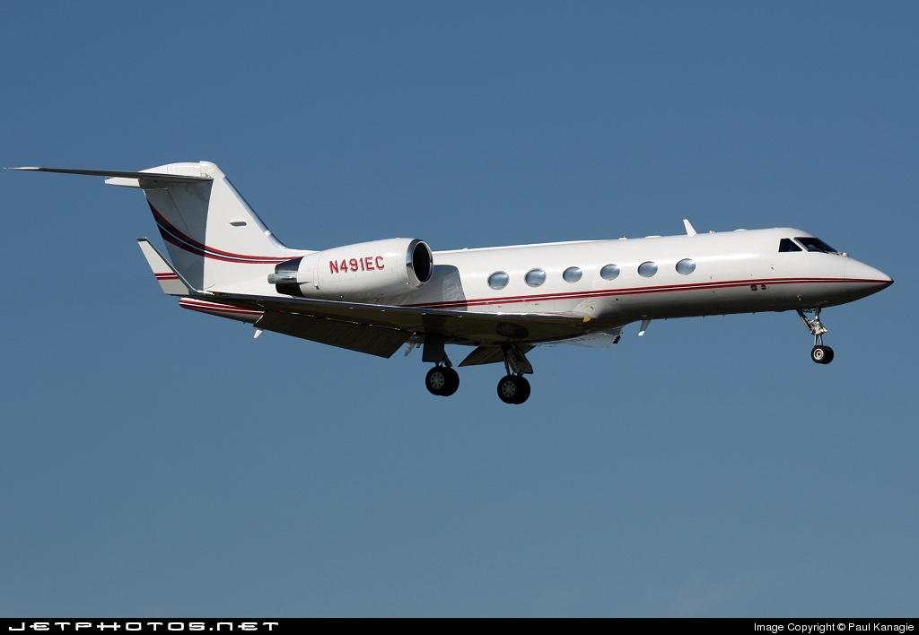 N491EC - Gulfstream G-IV(SP) - Private