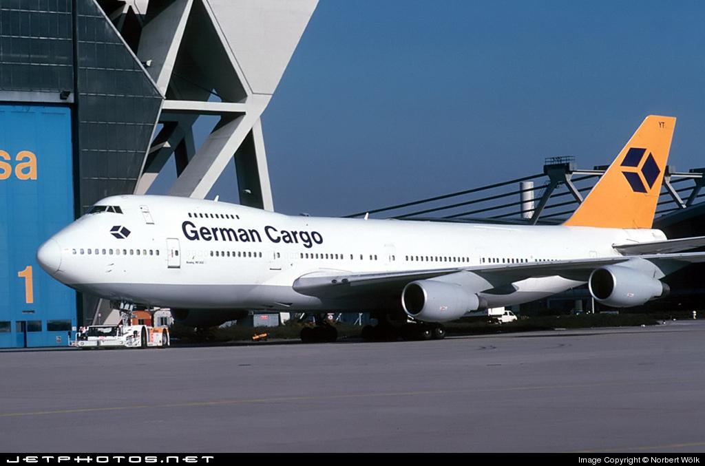 D-ABYT - Boeing 747-230B(SF) - German Cargo