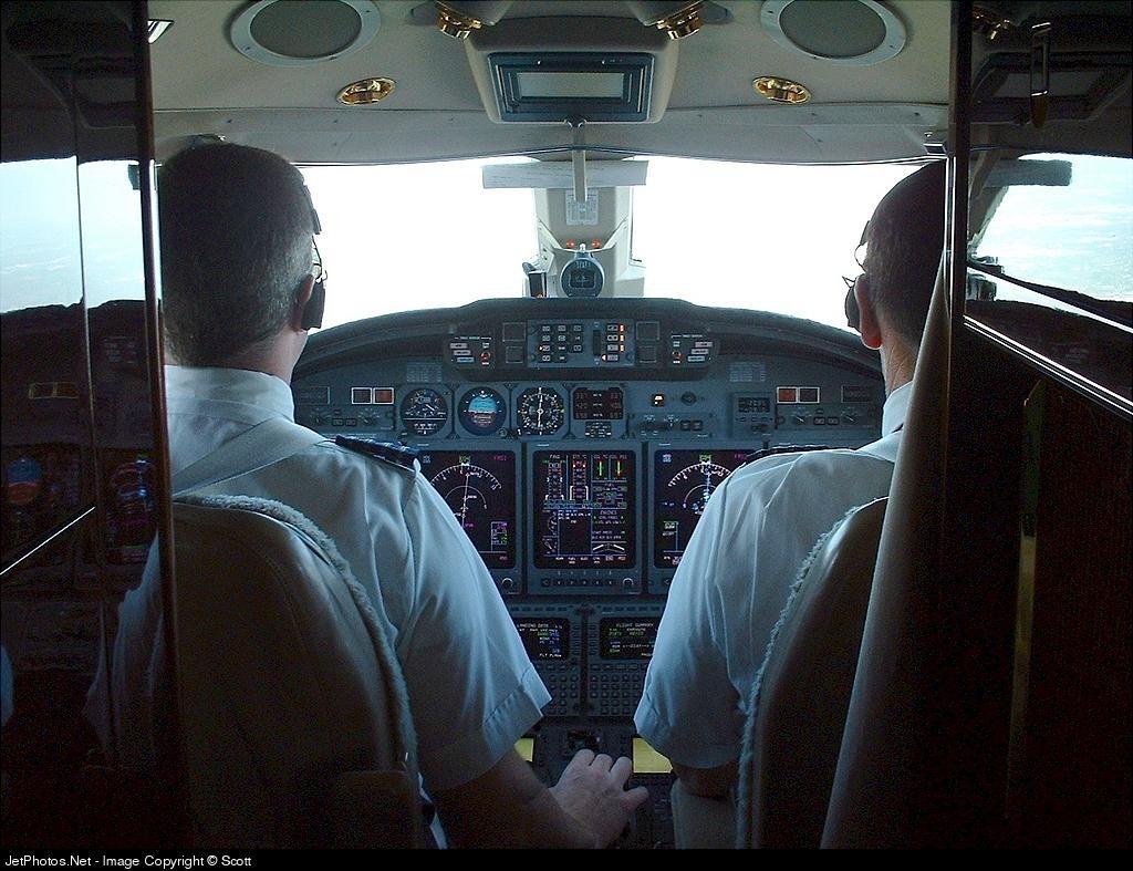 N960qs Cessna 750 Citation X Netjets Aviation Scott