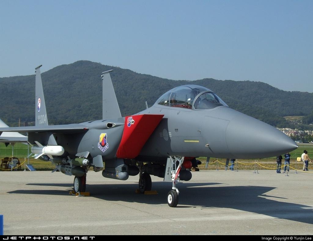 02-004 - McDonnell Douglas F-15K Slam Eagle - South Korea - Air Force
