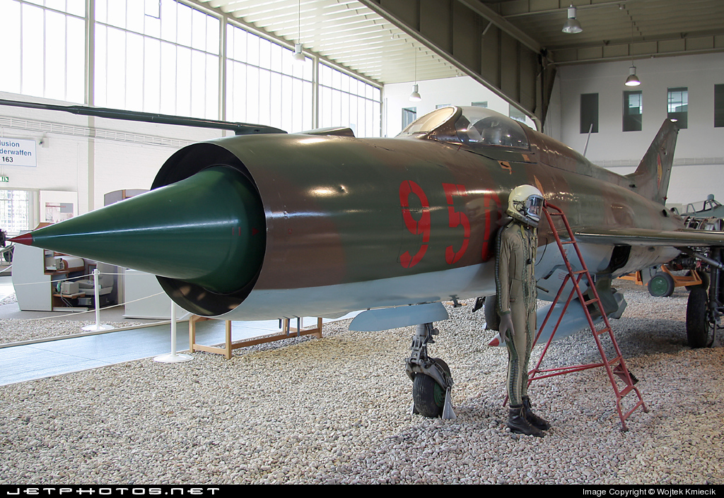 950 - Mikoyan-Gurevich Mig-21PFM Fishbed - German Democratic Republic - Air Force