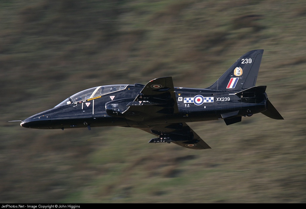 XX239 - British Aerospace Hawk T.1W - United Kingdom - Royal Air Force (RAF)