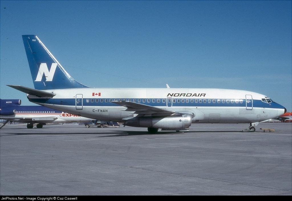 C-FNAH - Boeing 737-242C - Nordair