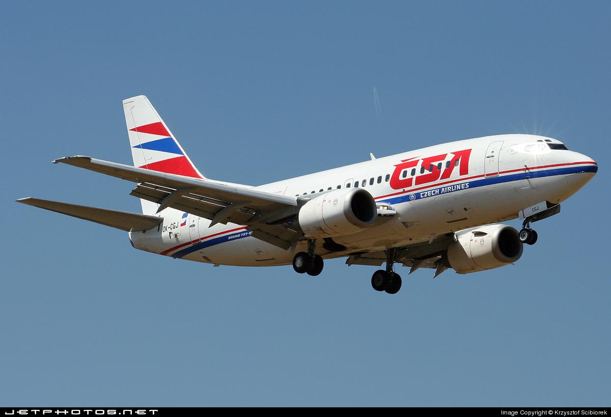 OK-CGJ - Boeing 737-55S - CSA Czech Airlines