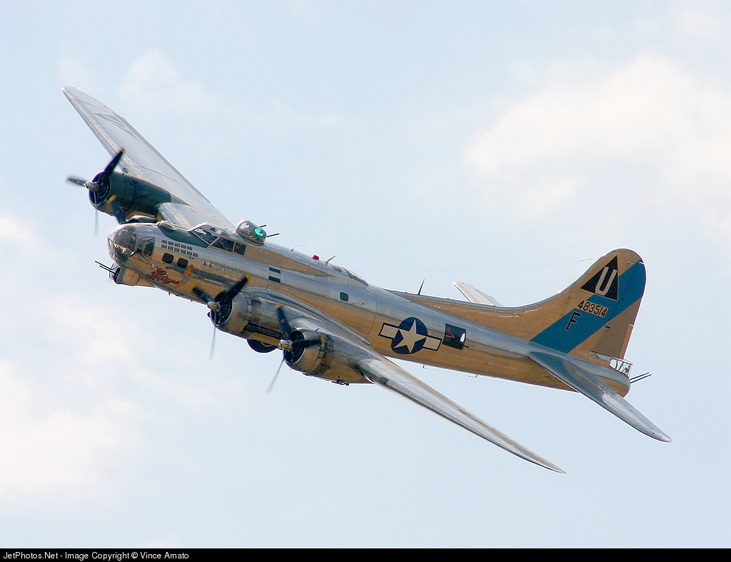 44-83514 - Boeing B-17G Flying Fortress - Boeing Company