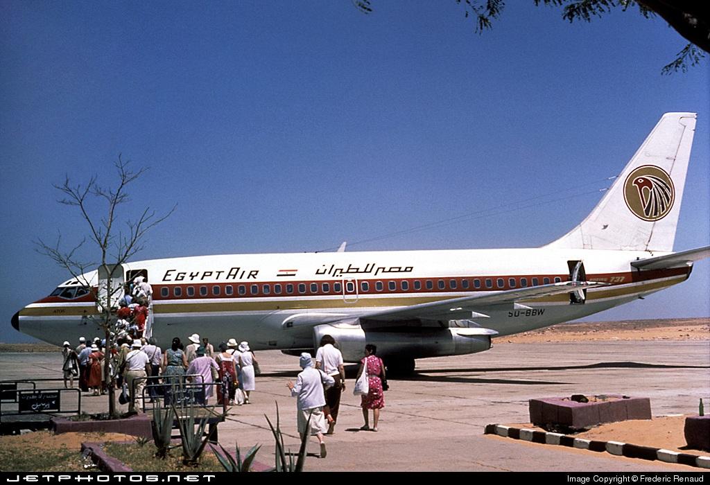 SU-BBW - Boeing 737-266(Adv) - EgyptAir