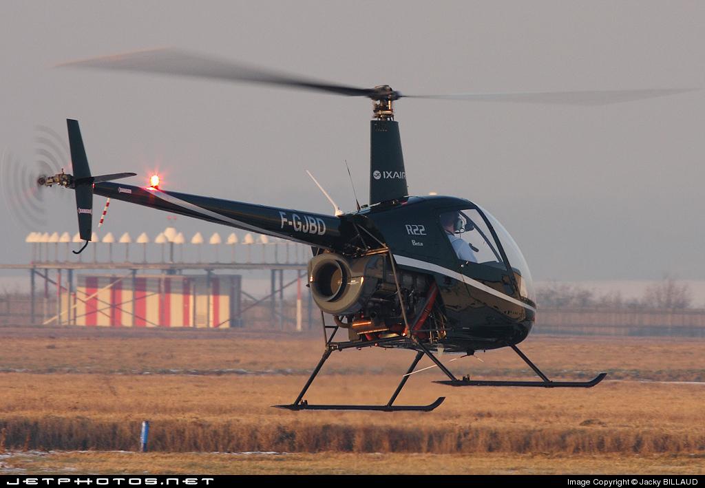 F-GJBD - Robinson R22 Beta - Ixair