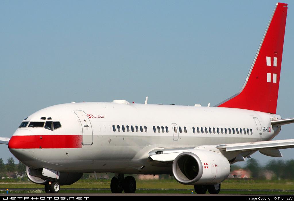HB-IIO - Boeing 737-7AK(BBJ) - PrivatAir