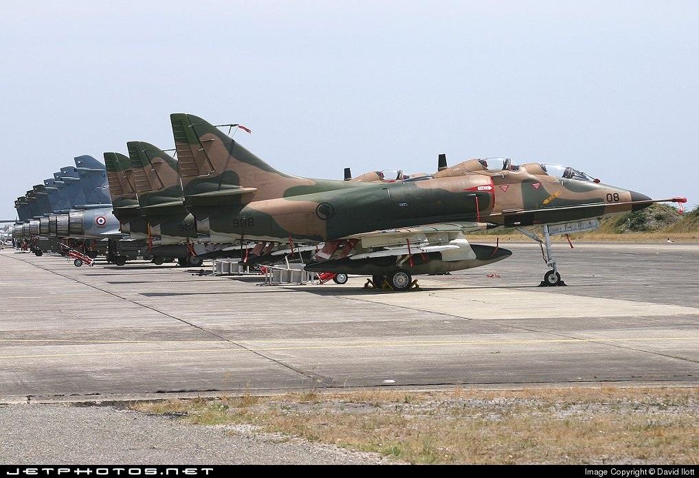 908 - Douglas A-4 Skyhawk - Singapore - Air Force