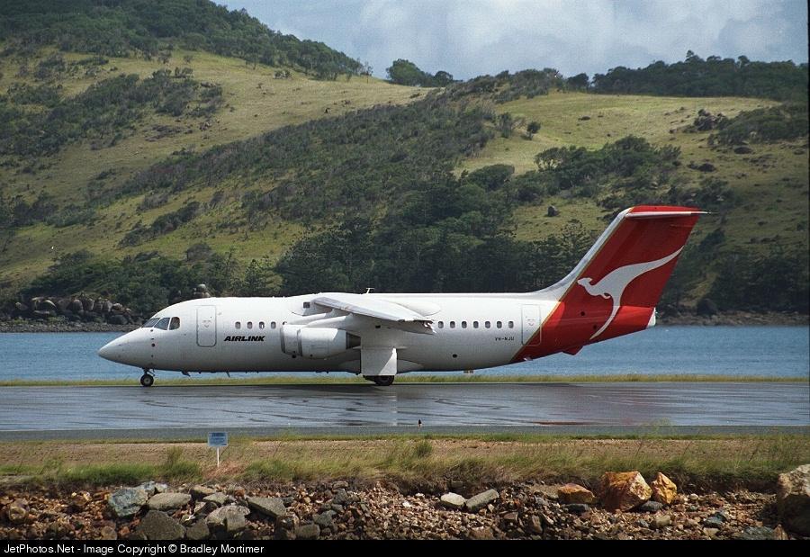 VH-NJU - British Aerospace BAe 146-200 - Qantaslink
