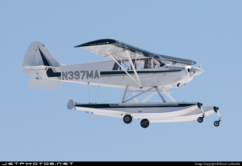N397MA - Aviat A-1B Husky - Private