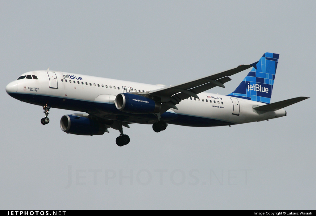 N629JB - Airbus A320-232 - jetBlue Airways