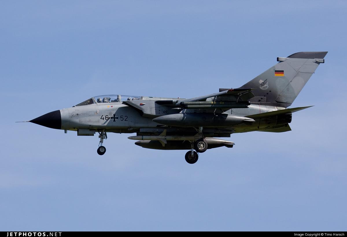 46-52 - Panavia Tornado ECR - Germany - Air Force