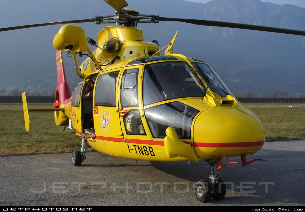 I-TNBB - Aérospatiale SA 365N3 Dauphin 2 - Italy - Provincia Autonoma di Trento