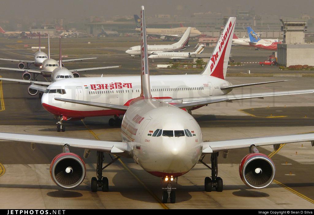 VT-EJK - Airbus A310-304 - Air India