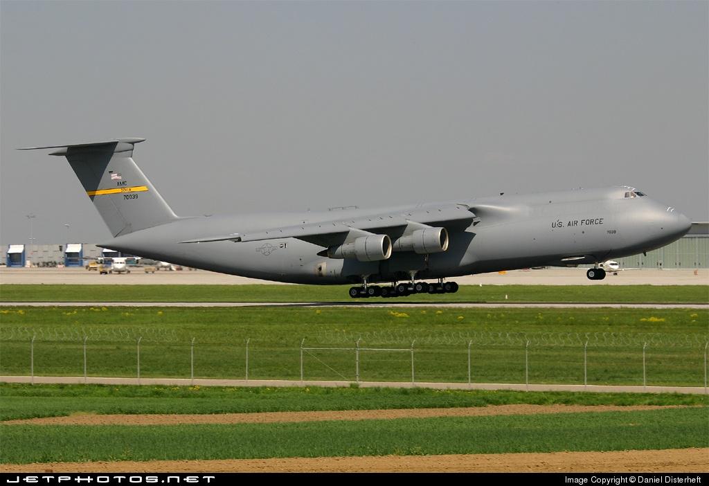 87-0039 - Lockheed C-5 Galaxy - United States - US Air Force (USAF)