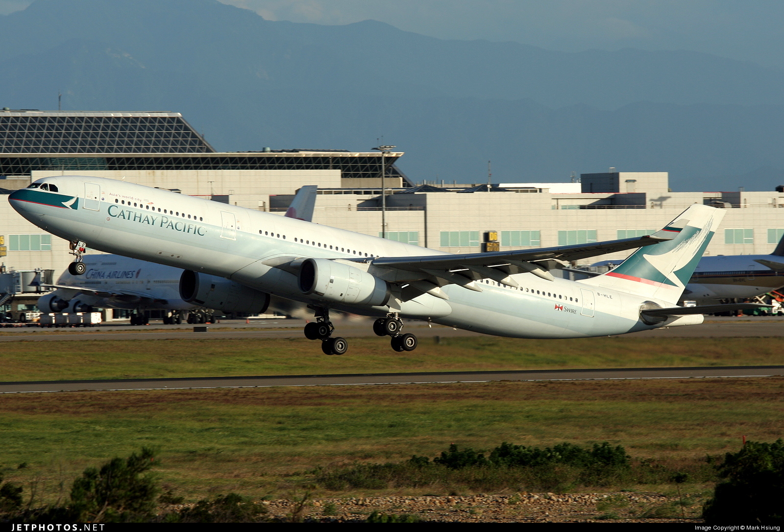 B-HLE - Airbus A330-342 - Cathay Pacific Airways