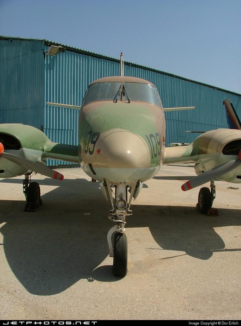 109 - Beechcraft 65-B80 Zamir - Israel - Air Force
