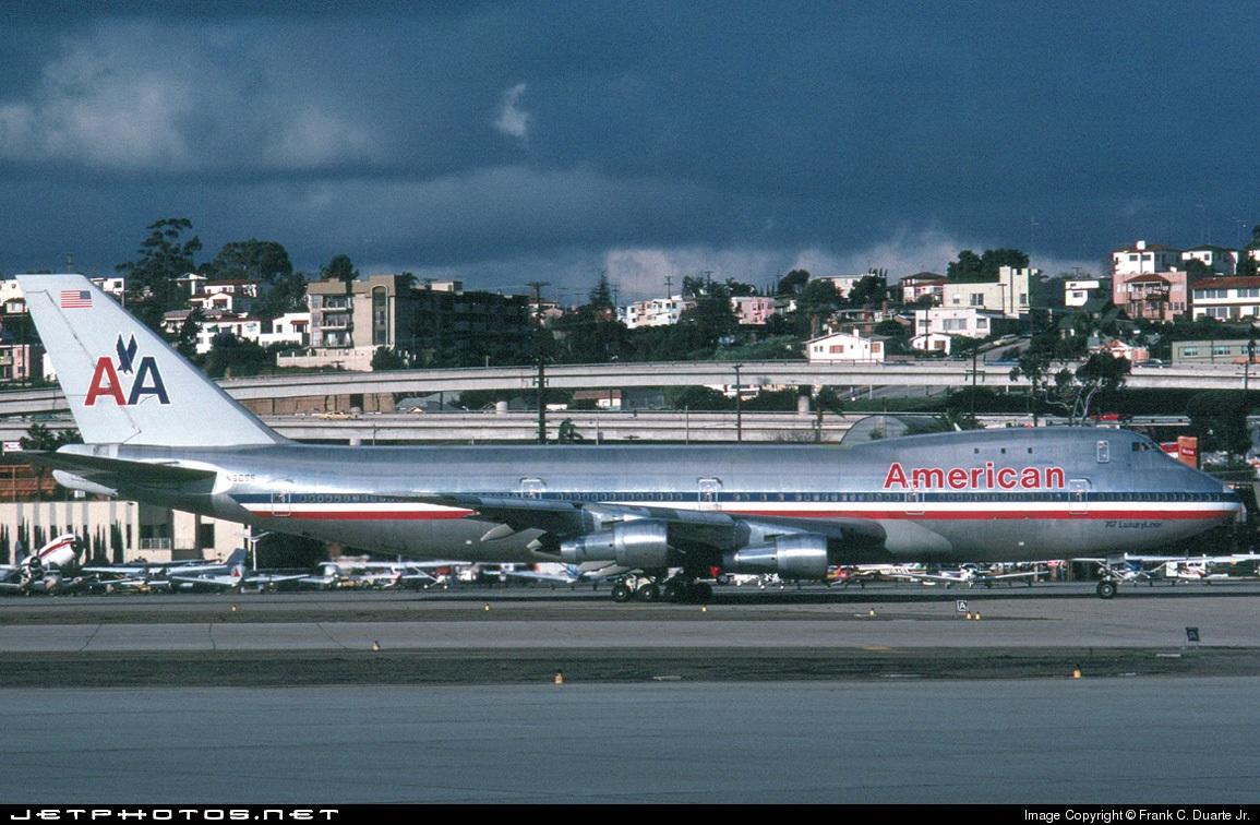 N9666 - Boeing 747-123 - American Airlines