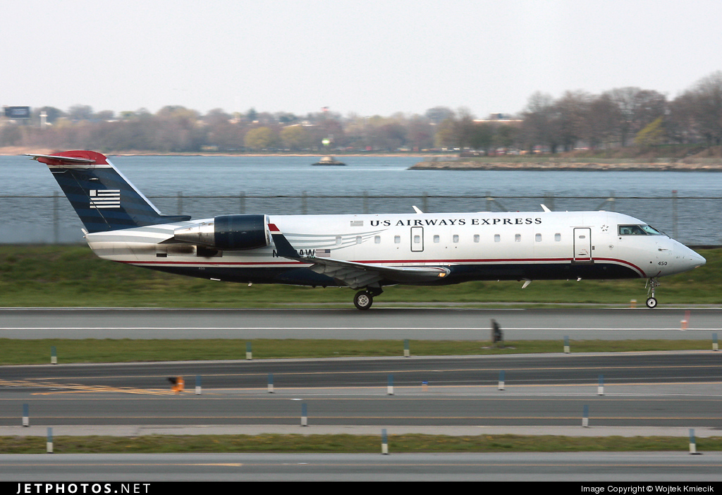 N450AW - Bombardier CRJ-200ER - US Airways Express (Air Wisconsin)