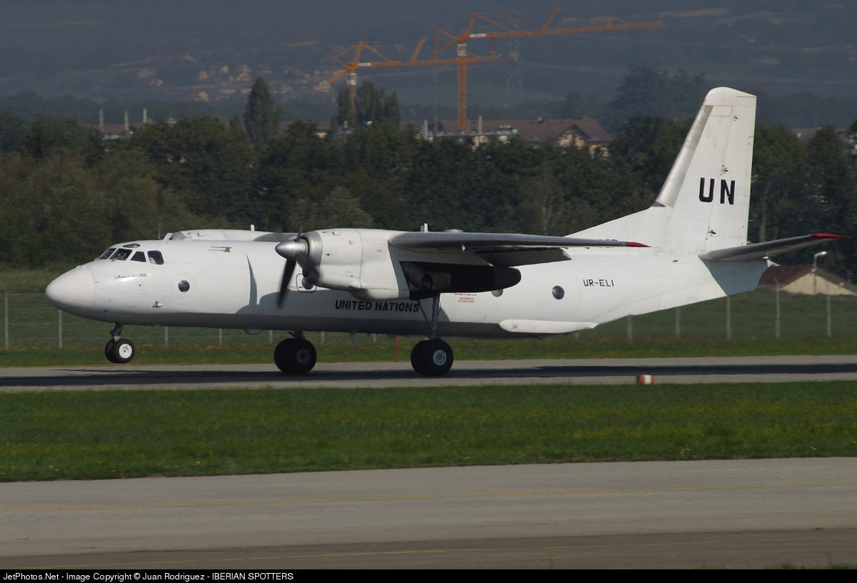 UR-ELI - Antonov An-26B - United Nations (Air Urga)