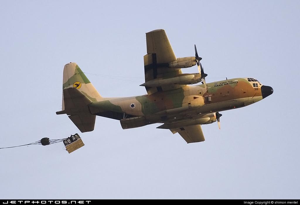318 - Lockheed C-130E Karnaf - Israel - Air Force