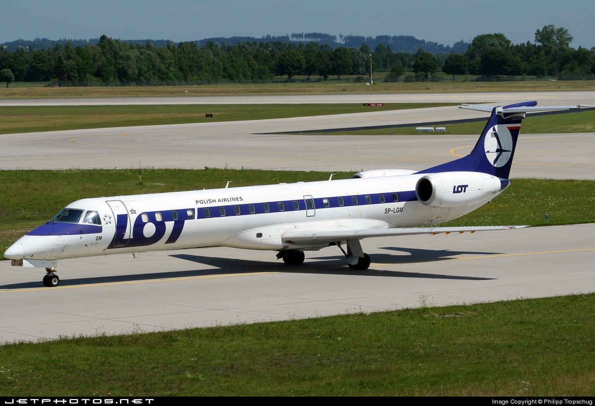 SP-LGM - Embraer ERJ-145MP - LOT Polish Airlines