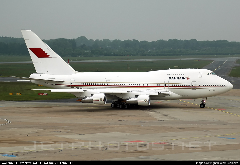 A9C-HMH - Boeing 747SP-21 - Bahrain - Royal Flight