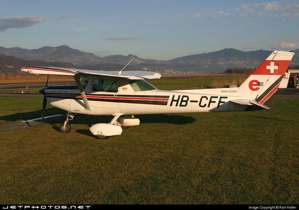 HB-CFF - Reims-Cessna F152 - Flugschule Eichenberger